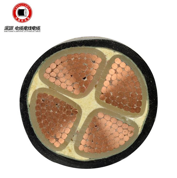 护套交联聚氯乙烯YJV电力电缆
