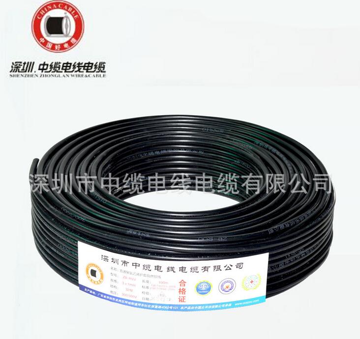 聚氯乙烯软护套电源线